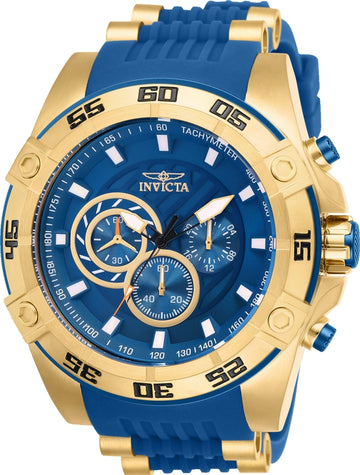 Invicta Men's Chronograph Watch - Speedway Blue Dial Quartz | 25508