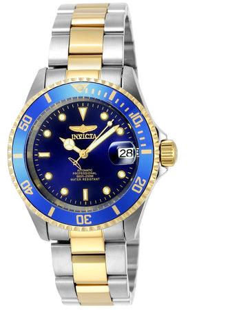 Invicta 8928OB Men's Coin Edge Bezel Automatic Pro Diver Blue Dial