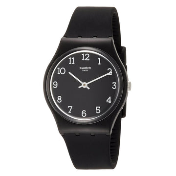 Swatch GB301 Unisex Time To Swatch Blackway Black Dial Watch