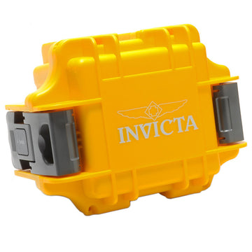 Invicta Watch Collector Box - One Slot Yellow | IPM10