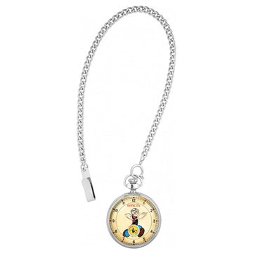 Invicta 24660 Men's Popeye Character Beige Dial Stainless Steel Pocket Watch