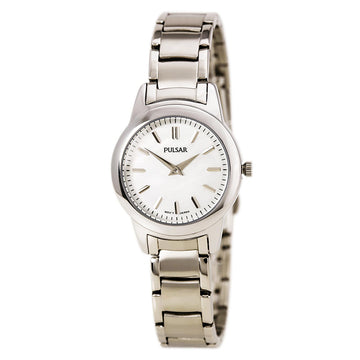 Pulsar PRW011 Women's Business Steel Bracelet Quartz MOP Dial Watch
