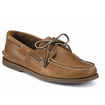 Sperry 0197640 Men's Authentic Original Sahara Leather 2-Eye Boat Shoe