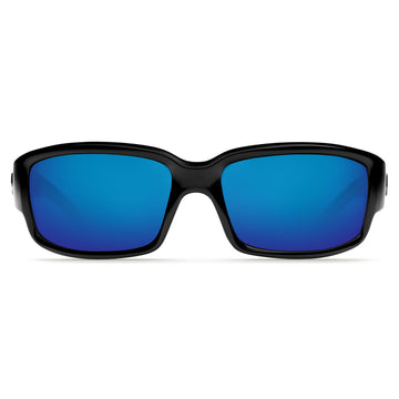 Costa Del Mar CL11OBMP Women's Caballito Polarized Plastic 580P Blue Mirror Lens Black Frame Sunglasses