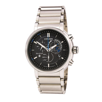 Citizen Men's Chronograph Watch - Proximity Eco-Drive Bluetooth Steel Bracelet