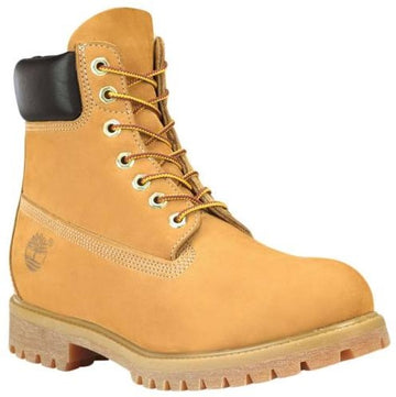 Timberland C10061 Men's Classic Premium Waterproof Wheat Nubuck Leather Lace Up Boots, 6