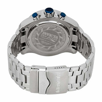 Invicta Men's Chronograph Watch - Pro Diver Blue Dial Steel Bracelet | 26075
