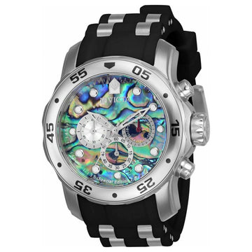 Invicta 24838 Men's Pro Diver Steel & Polyurethane Strap Watch