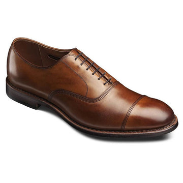 Allen Edmonds 5956 Men's Park Avenue Cap-Toe Oxford Walnut Cloud Finish Leather Shoes