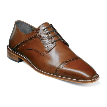 Stacy Adams 25113-221 Men's Ryland Cognac Shoe