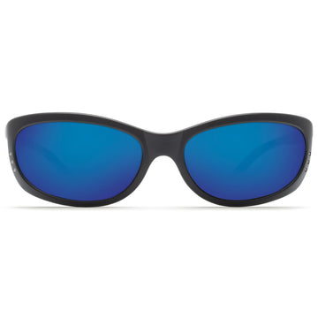 Costa Del Mar FA11OBMP Men's Fathom 580P Polarized Plastic Blue Mirror Lens Matte Black Frame Sunglasses