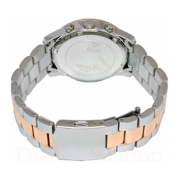 Guess W0122L1 Women's Two Tone Rose Gold Bracelet Quartz Crystal Chron
