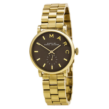 Marc von Marc Jacobs MBM3281 Damen Yellow Steel Bracelet Quartz Baker