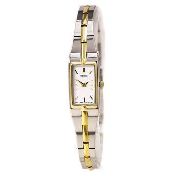 Seiko Women's Rectangular Face Bracelet Watch SZZC40