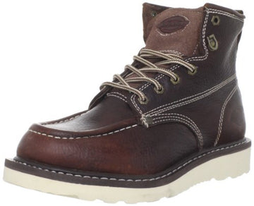 Dickies DW7312BY Men's Trader Burgundy Work Boots