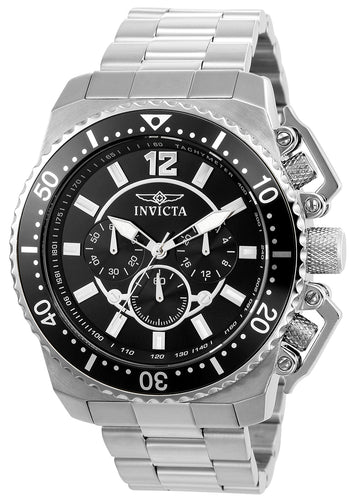 Invicta Men's Chronograph Watch - Pro Diver Stainless Steel Bracelet | 21952
