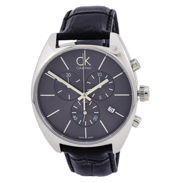 Calvin Klein K2F27107 Men's Exchange Grey Dial Chronograph Watch