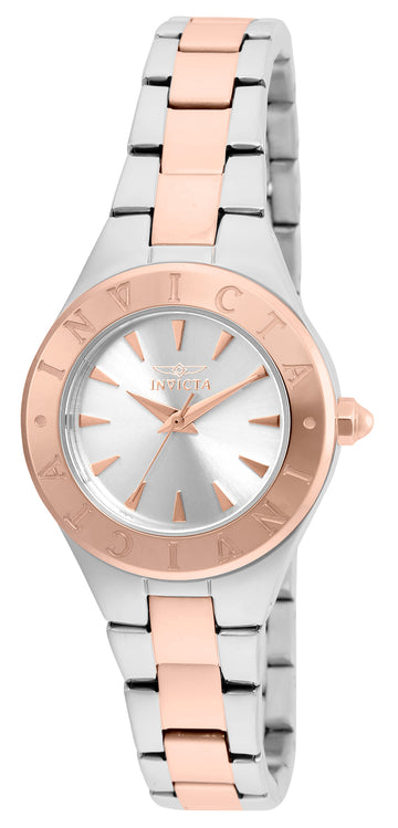 Invicta 21746 Women's Wildflower Silver Dial Two Tone Rose Gold Steel Watch
