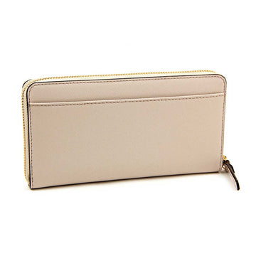 Kate Spade PWRU3898-296 Women's Cedar Street Lacey Zip Around Crisp Linen Leather Wallet