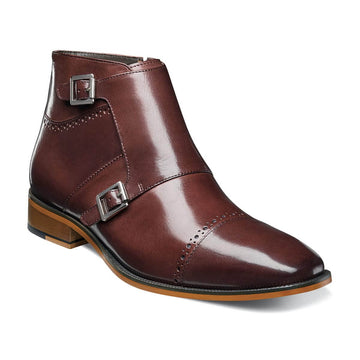 Stacy Adams 25127-205 Men's Kason Chestnut Boot