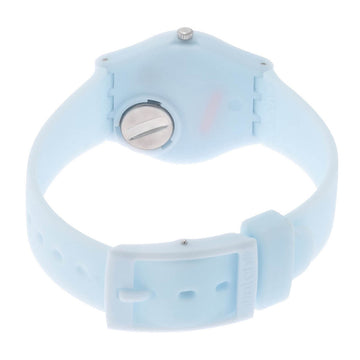 Swatch LL119 Women's Core Clearsky White Dial Watch