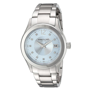 Kenneth Cole 10030803 Women's Steel Bracelet Quartz Classic Crystal