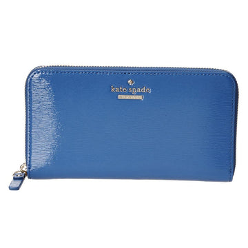 Kate Spade PWRU3926-439 Cedar Street Patent Lacey Orbit Blue Patent Leather Women's Wallet