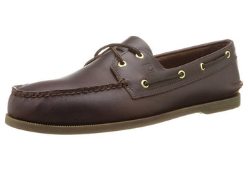 Sperry 0195214 Men's Authentic Original Amaretto Leather 2-Eye Boat Shoe