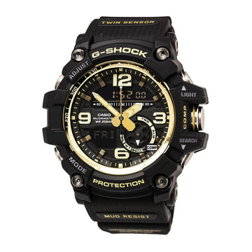 Casio Men's World Time Watch - G-Shock Dive Ana-Digital Black Dial | GG1000GB-1A