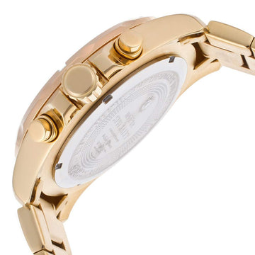Invicta 17753 Men's Specialty Chronograph Gold Dial Gold Plated Steel Bracelet Watch