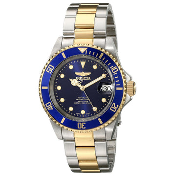 Invicta 17045 Men's Pro Diver Automatic Blue Dial Two Tone Steel Bracelet Dive Watch
