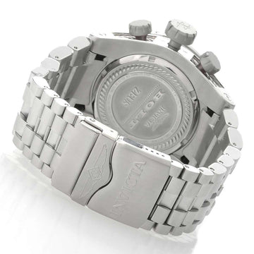 Invicta 22159 Men's Bolt Zeus Reserve Chronograph Silver & Black Dial Steel Bracelet Dive Watch