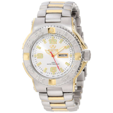 Reactor 77102 Women's Critical Mass DNA Silver Dial Two Tone Steel Dive Watch