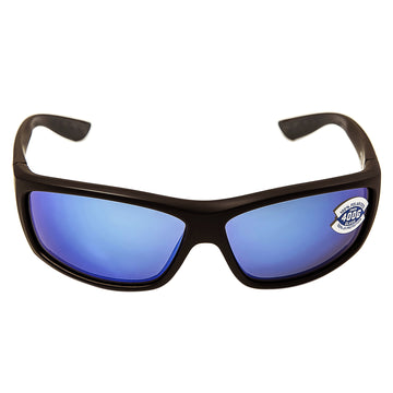 Costa Del Mar BK11BMGLP Men's Saltbreak Polarized 400G Blue Mirror Lens Matte Black Frame Sunglasses