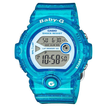 Casio BG6903-2B Women's Baby-G Blue Resin Band Quartz Watch