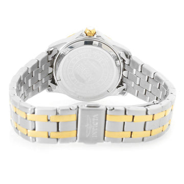 Invicta Women's Two Tone Steel Watch - Angel Quartz Silver Dial Crystal | 20373