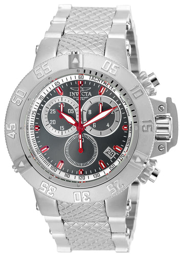 Invicta 24720 Men's Subaqua Noma III Gunmetal Dial Steel Bracelet Chronograph Dive Watch