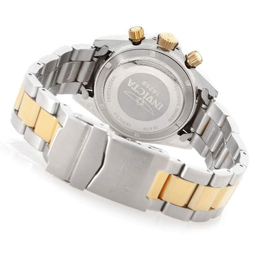Invicta 16259 Men's Two Tone Yellow Bracelet Speedway Diamond Chrono Mother of Pearl Dial Watch