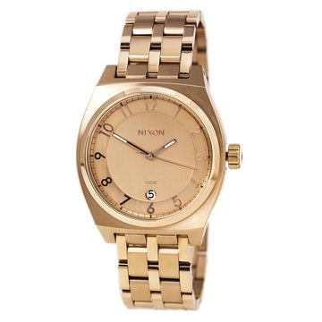 Nixon A325897 Men's The Monopoly Rose Gold Dial Rose Gold Steel Bracelet Watch