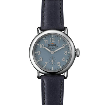 Shinola 10000243 The Runwell Women's Slate Blue Dial Watch