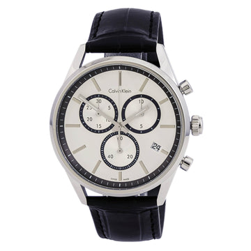Calvin Klein K4M271C6 Mens Formality Chronograph Swiss Watch