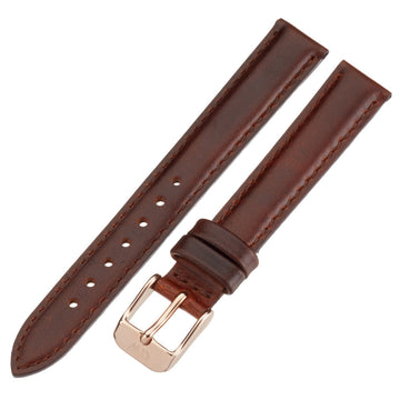 Daniel Wellington BDW-1000DW Women's Classy St Andrews 13mm Brown Leather Watch Strap