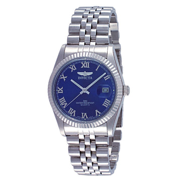 Invicta Men's Stainless Steel Watch - Specialty II Blue Dial Bracelet Quartz | 9330