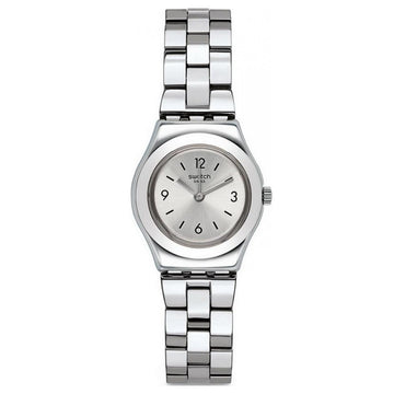 Swatch YSS300G Women's Archi-Mix Gradino Silver Tone Dial Stainless Steel Bracelet Watch