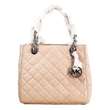 Michael Kors Women's Ballet Quilted Lamb Leather Shoulder Tote - Susannah Small