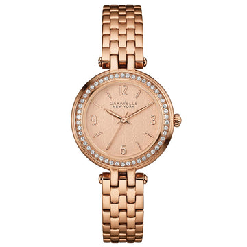 Caravelle 44L175 Women's Rose Gold Steel Rose Gold Watch