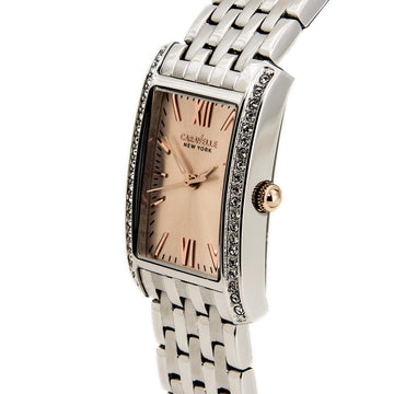 Caravelle New York 45L140 Women's Stainless Steel Crystal Watch