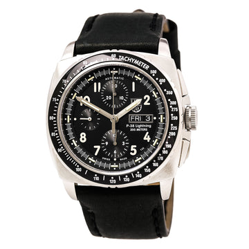 Luminox Men's Chronograph Automatic Watch - Air P-38 Lightning Black Strap | 9461