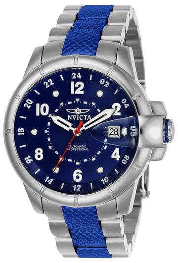 Invicta Men's Automatic Watch - Signature Two Tone Blue Bracelet | 7087S