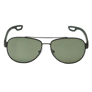 Prada PS55QS DG05X1 62 Linea Rossa Men's Green Lens Sunglass